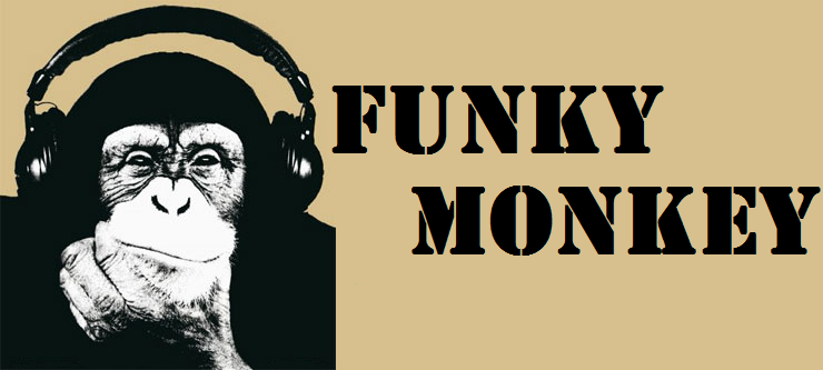 Funky Monkey — ME GUSTA meme 1 Inch Silicone Wristband/Bracelet