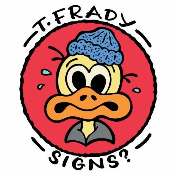 Frady Cat Signs