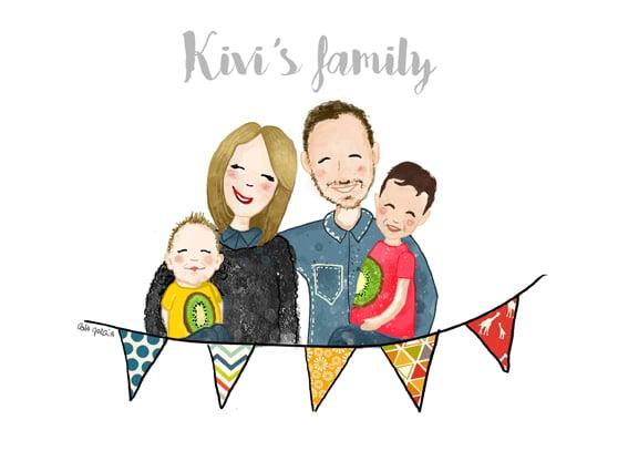 Kivi's family