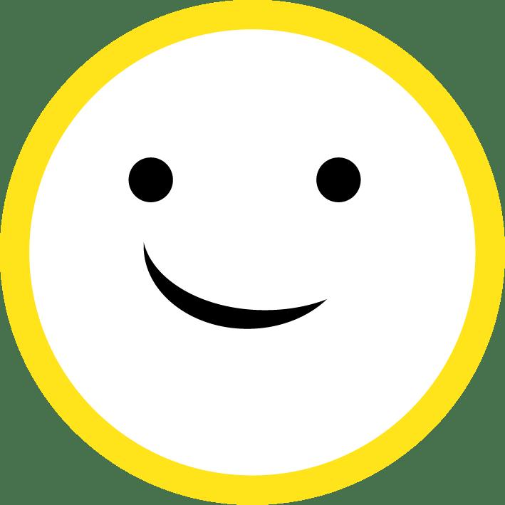 stick a smile.
