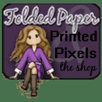 Folded Paper & Printed Pixels