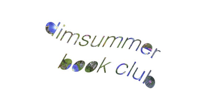 dimsummer book club