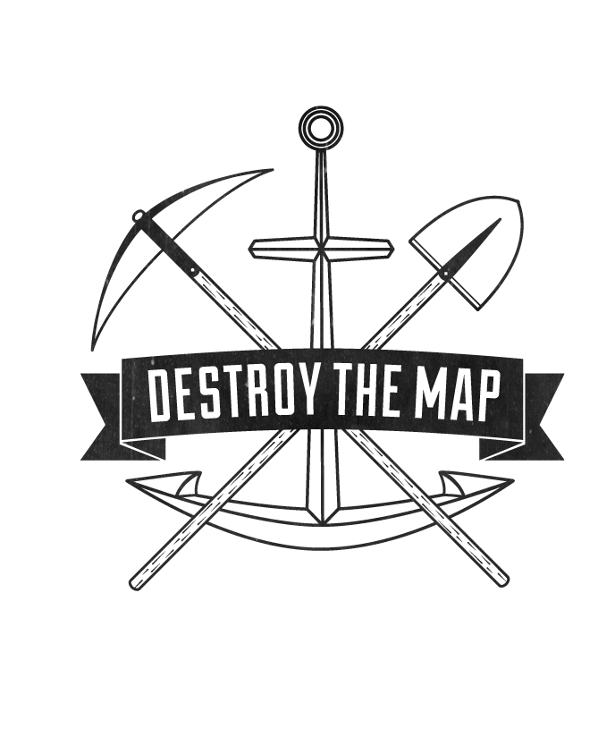 Destroy the Map Graphics & Design