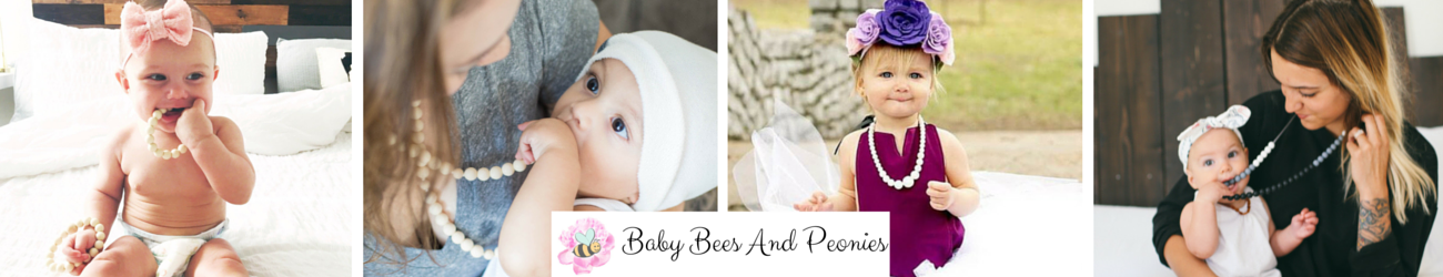Baby Bees And Peonies
