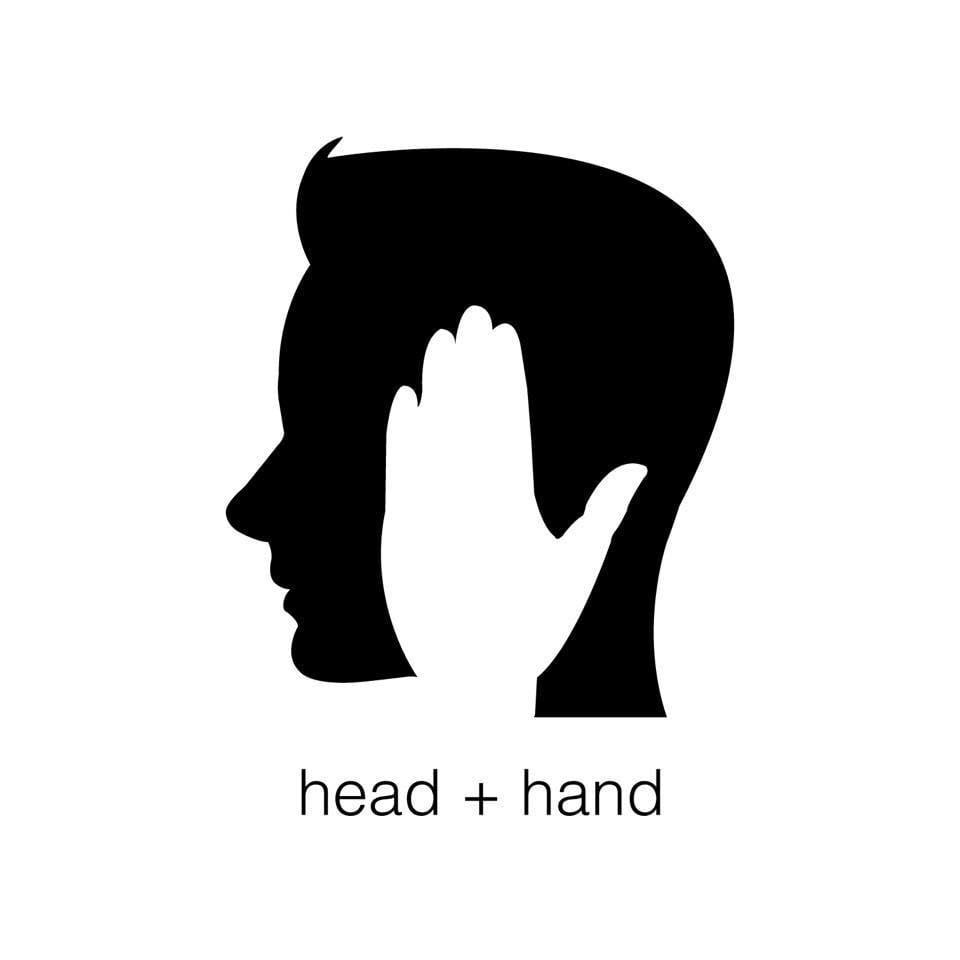 head + hand