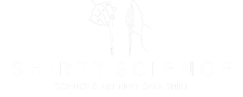 Shirty Science - science art collaboration on a shirt