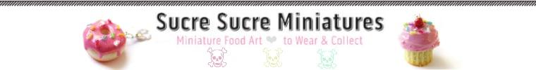 Sucre Sucre Miniatures Wholesale Catalogue