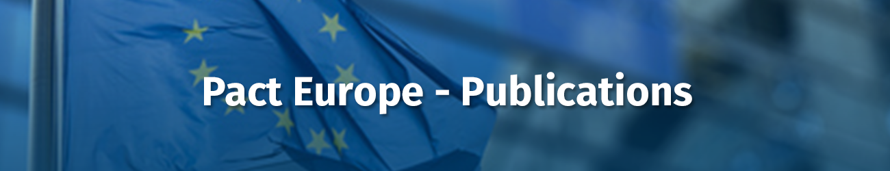 PACT EUROPEAN AFFAIRS PUBLICATIONS