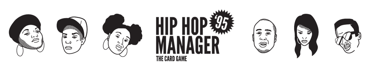 HIP HOP MANAGER '95: THE CARD GAME