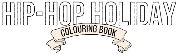 Hip Hop Holiday Coloring Book