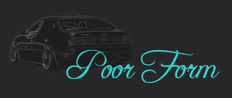 PoorForm