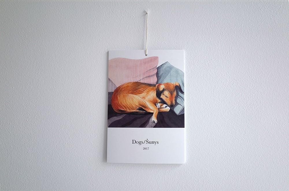 Dogs calendar 2017