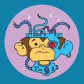 Lab Monkey Number 9