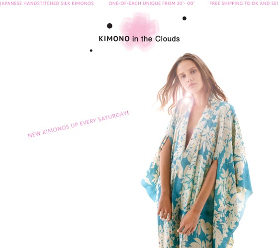 Kimono in the Clouds - Eng.
