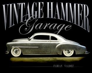 Vintage Hammer Garage