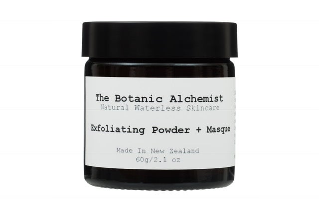Exfoliating Powder and Masque all natural ingredients