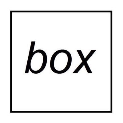 box clothing