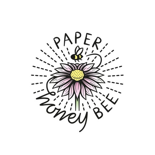 Paper Honey Bee