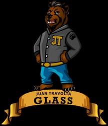 Juan Travolta Glass