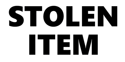 stolen item