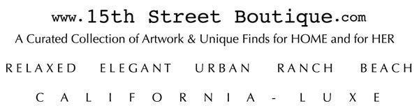 15th Street Boutique - California Luxury Gifts for Her - Rancho Santa Fe, Del Mar, La Jolla
