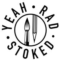 yeah rad stoked