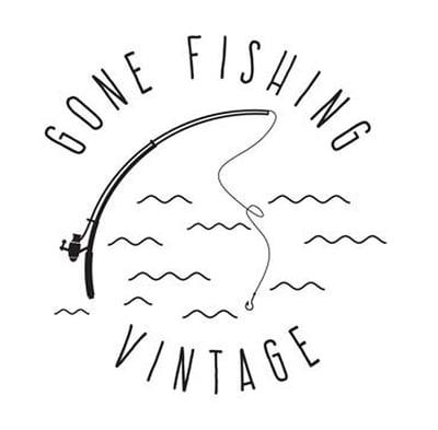 Gone Fishing Vintage