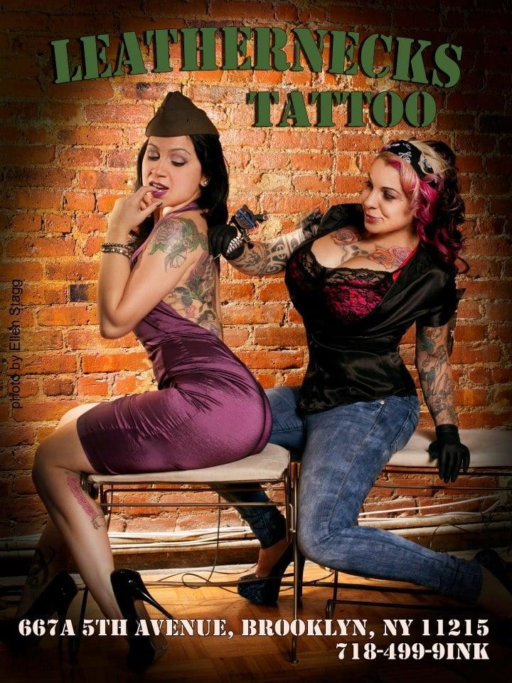 Leathernecks Tattoo Shop Apparel