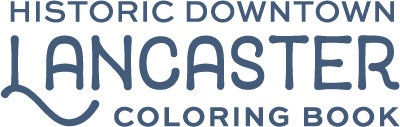 Historic Downtown Lancaster Coloring Book