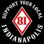 Indianapolis Hells Angels Support Gear | Support 81 Indianapolis