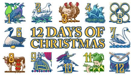 12 Makers of Christmas