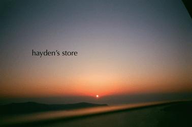 hayden's store