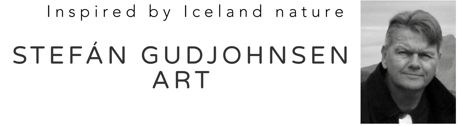 Stefán Gudjohnsen art - inspired by Iceland nature