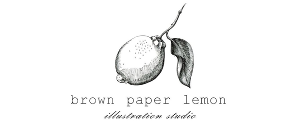 brown paper lemon