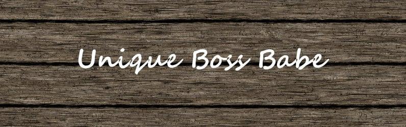 Unique Boss Babe