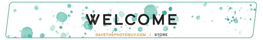 Welcome to davethephotoguy