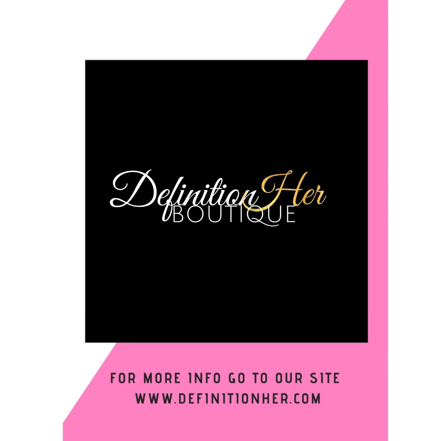 DEFINITIONHER BOUTIQUE
