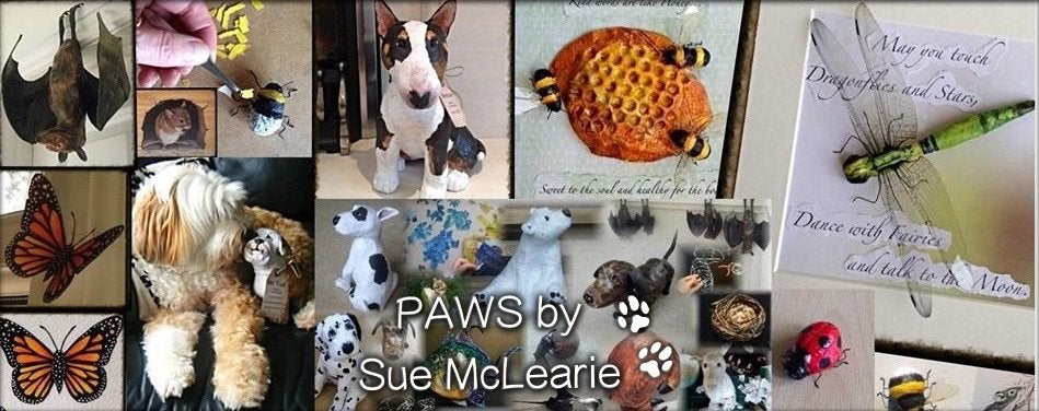 PAWS By Sue McLearie