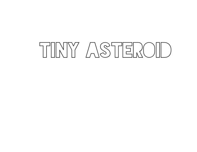 tiny asteroid jewelry