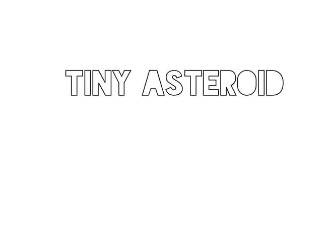 tiny asteroid jewelry
