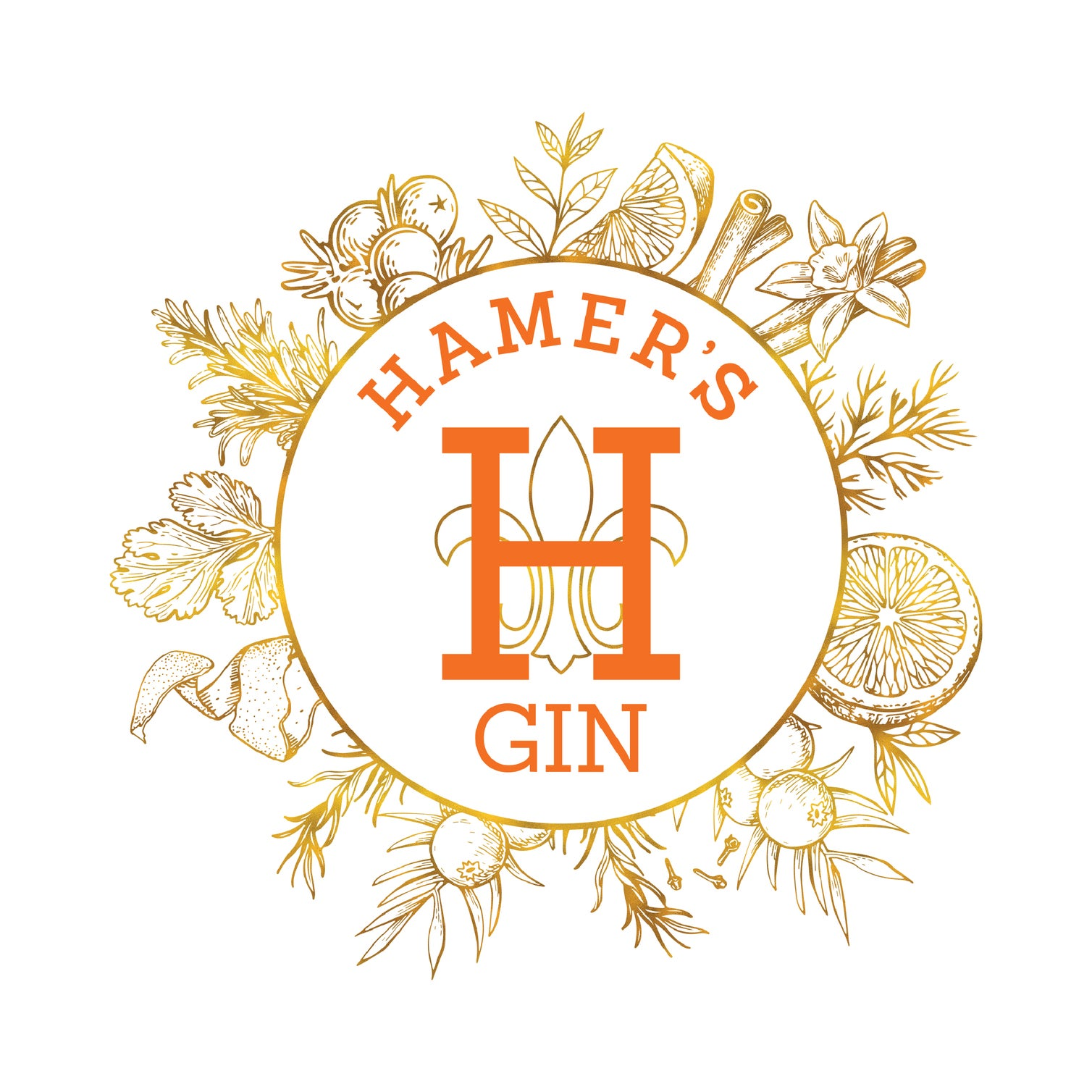 Hamer's Gin - Made in Luxembourg -