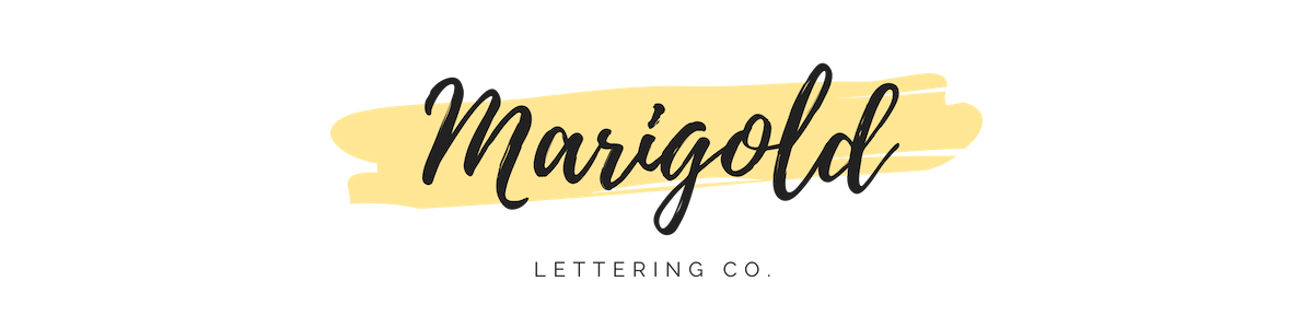 Marigold Lettering Co.