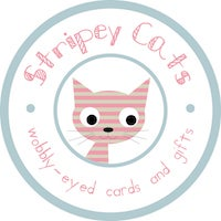 Stripey Cats Cards