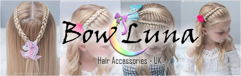 Bowluna | Hair bows for girls | Bow headbands, hair bow clips.