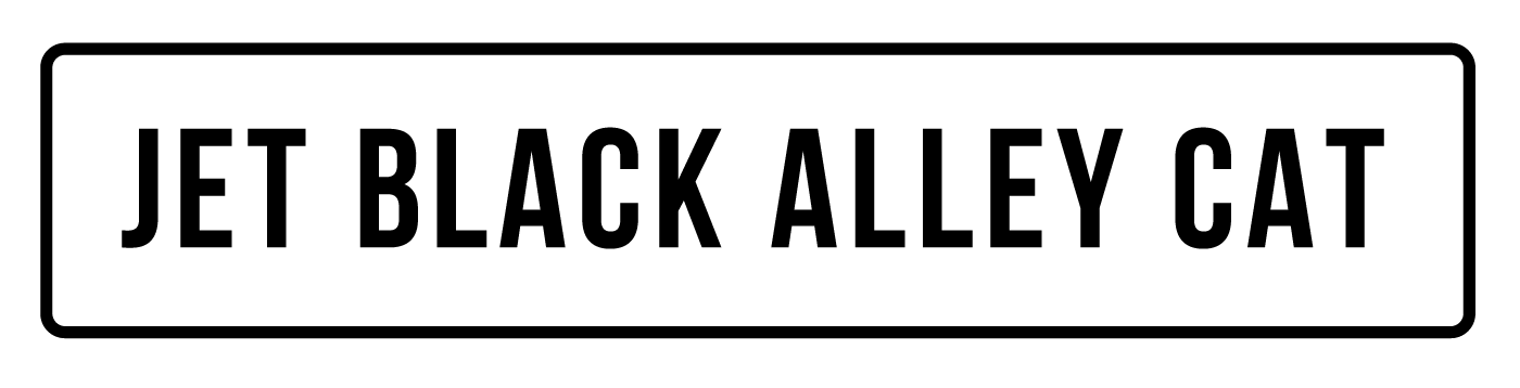 JET BLACK ALLEY CAT
