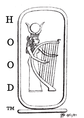 Harpist  from the Hood