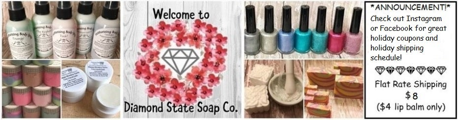 Diamond State Soap Co. - Natural Bath and Body from the Natural State