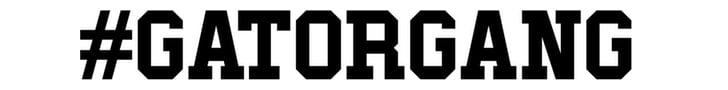 #gatorgang
