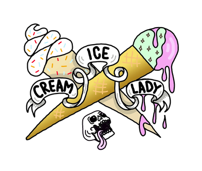 ice cream lady