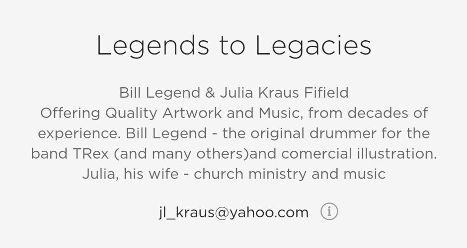 Legends to Legacies